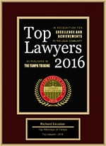 Top Lawyers 2016 | Richard Escobar