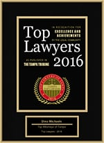Top Lawyers 2016 | Dino Michaels